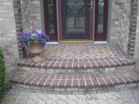 Front Patio Pavers 17 Best Paver Walkways And Steps Images On