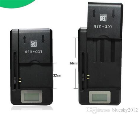 Universal Charging Usb Wall Dock Battery With Lcd Display Hitam ss 8 universal lcd battery wall charger adapter usb for samsung galaxy note 2 3 4 iphone