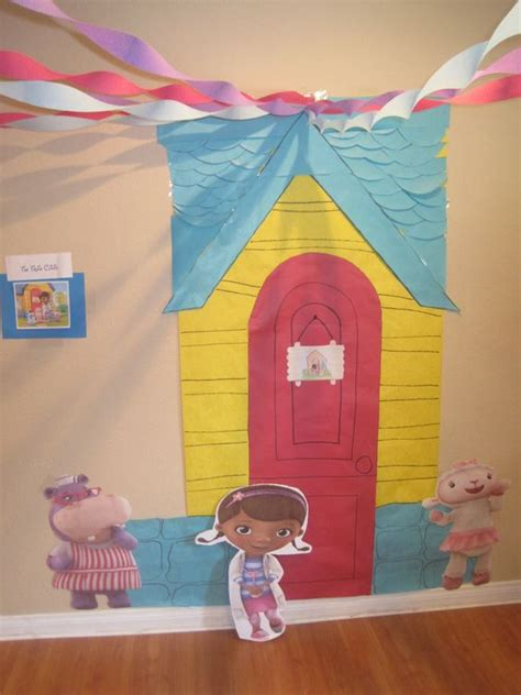 doc mcstuffins outdoor playhouse doc mcstuffins back drop and link on pinterest