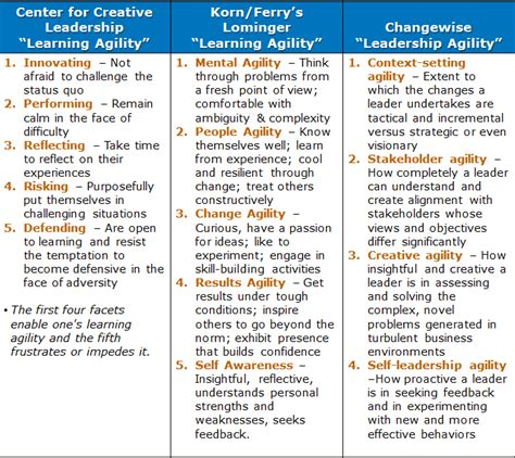 learning agility the key to leader potential books learning agility a 2020 leadership competency a j o