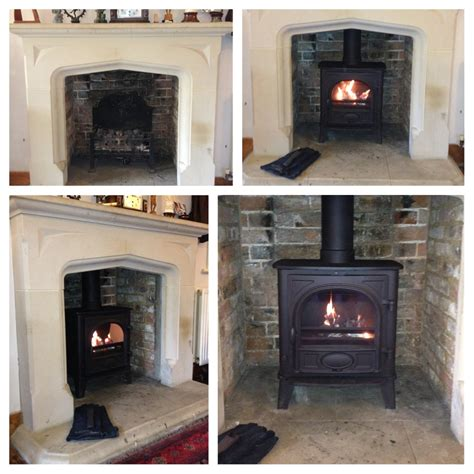 wood fireplace installation stove installation photos exles of our work firecrest