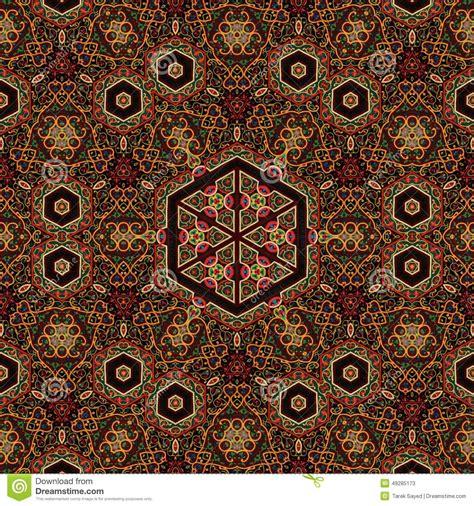 art pattern maker seamless khayameya pattern design 038 stock photo image