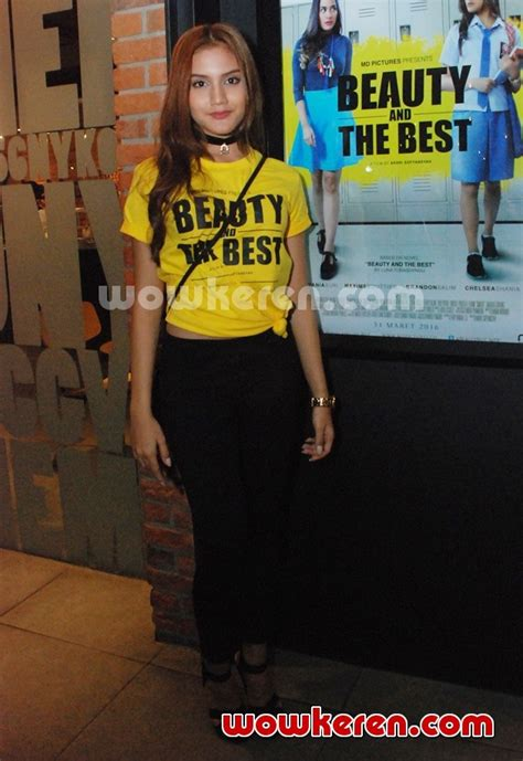 chelsea shania foto chelsea shania di premier film beauty and the best