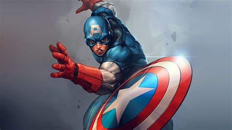 captain america comic wallpaper captain america full hd wallpaper and background image
