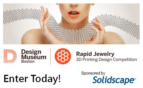 rapid jewelry 3d printing design competition boston design museum boston s 3d printed jewelry competition