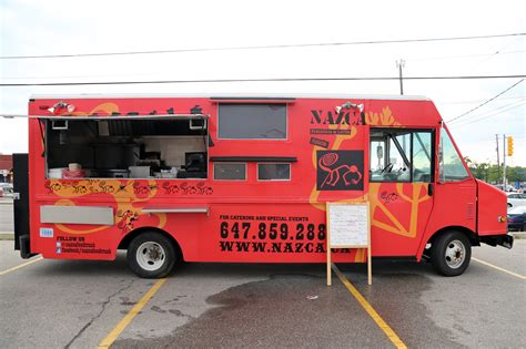 food truck nazca toronto food trucks toronto food trucks