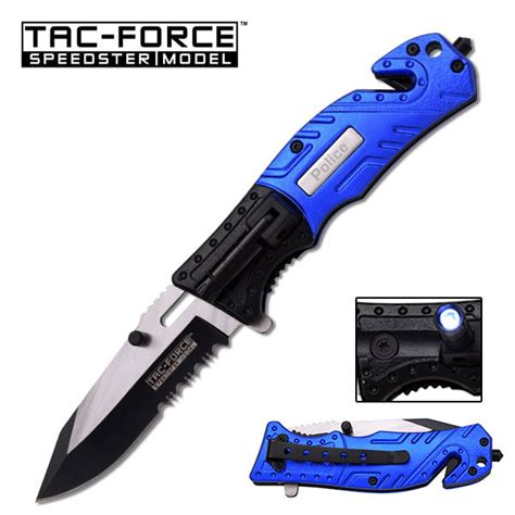 assisted tactical knife tac assisted tactical knife with led light