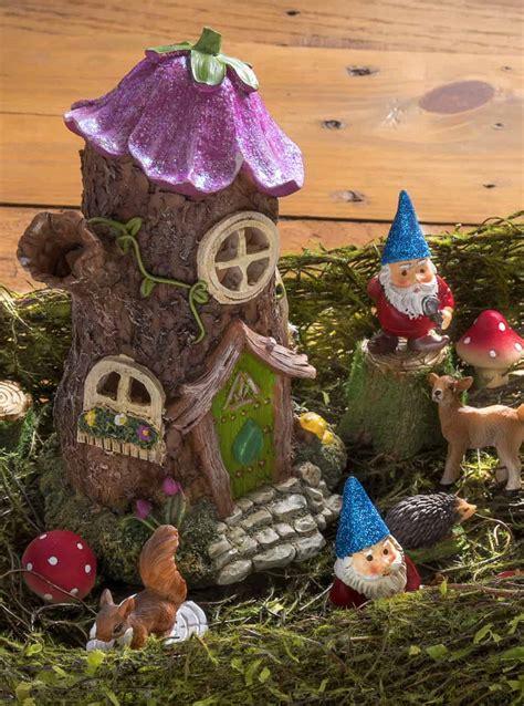 magical desktop fairy garden mod podge rocks