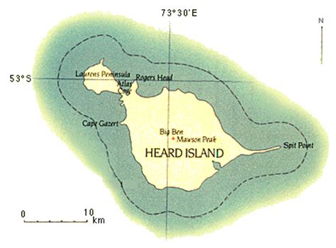 heard map canberra quest for a sub antarctic cabbage