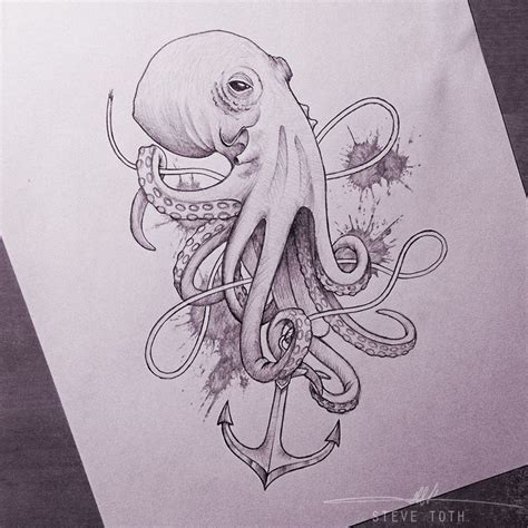tattoo sketch app 165 best images about octopus on pinterest the octopus