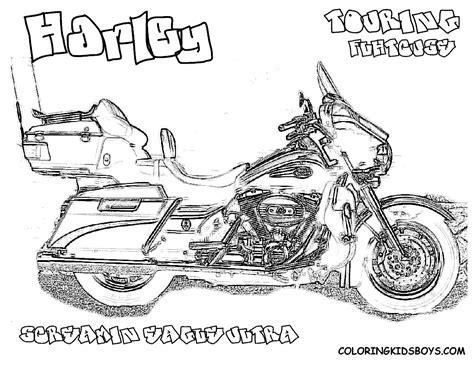 Harley Davidson Coloring Book Home