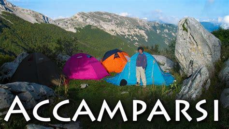 in tenda dormire tenda saccappelo materassino trekking