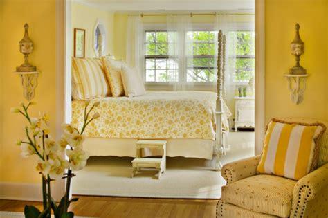 wandfarbe gelb farbgestaltung ideen in der frischen warmen farbnuance