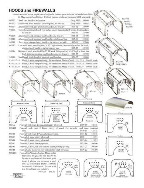 ford model a parts catalog model t ford parts catalogue images