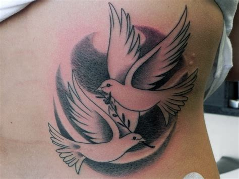 dove with olive branch tattoo 75 dove designs and symbolic meaning peace