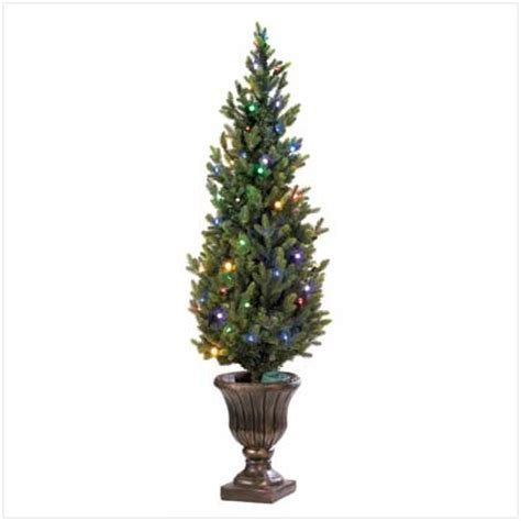 indoor outdoor led light artificial christmas tree holiday