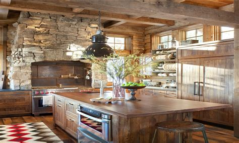 Rustic Farmhouse Kitchen Ideas | rustic farm kitchen interiors design