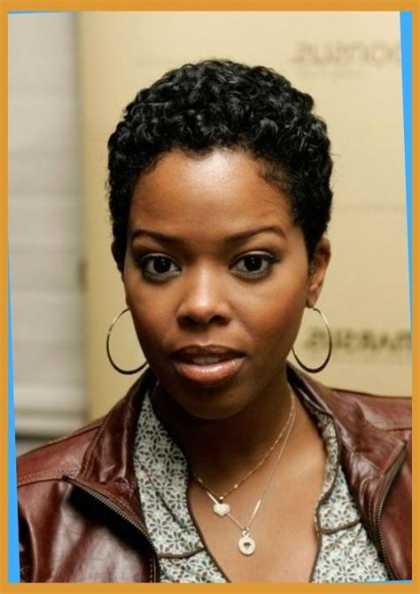 short haircuts for african american women 24 cute curly and natural short hairstyles for black women