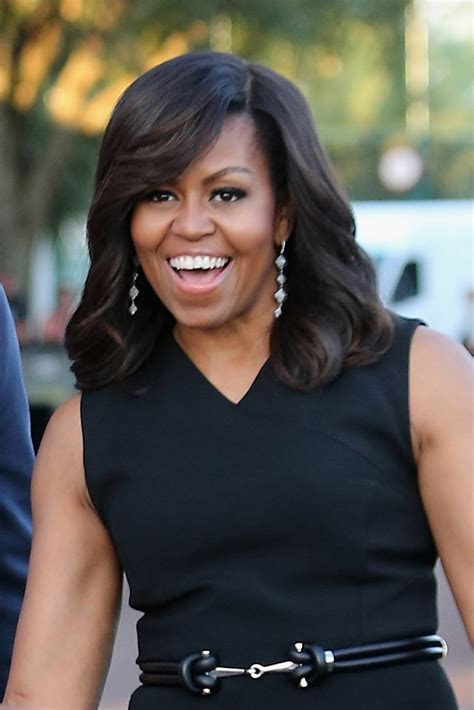 michelle obama haircut best michelle obama hair moments 2016 essence com