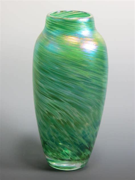 Glass Blown Vase Spun Vase Rosetree Blown Glass