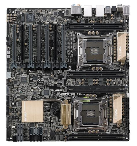 Dual Sockel Mainboard by Asus Announces The Z10pe D8 Ws Dual Socket Motherboard Techpowerup Forums