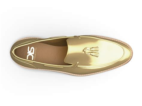 mens gold loafers shiny gold leather tassel loafer dis