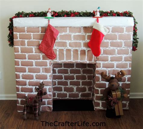 How To Make A Cardboard Fireplace For by 17 Best Ideas About Cardboard Fireplace On