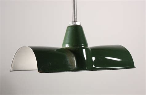 Green Light Fixtures Three Matching Antique Green Enamel Porcelain Industrial Light Fixtures Nc797 For Sale