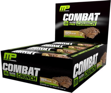 Musclepharm Combat Crunch Mp Combat Crunch Protein Bar 1 combat crunch bars by musclepharm at bodybuilding best prices on combat crunch bars