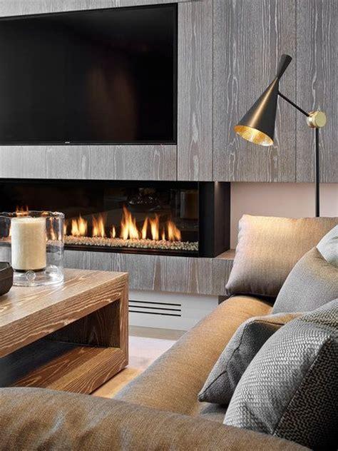 chimenea y television las 25 mejores ideas sobre chimeneas modernas en pinterest