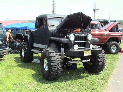 jeep willys truck lifted willys pickup truck flickr photo sharing