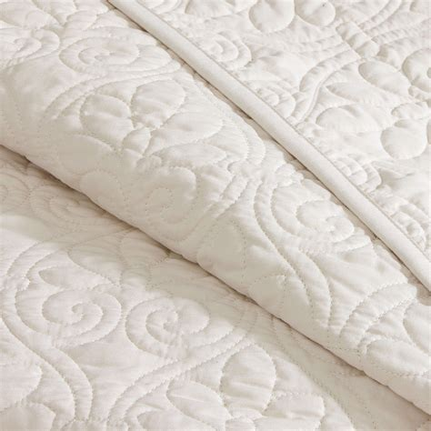 oversized coverlet oversized quilted coverlet set cherry hill collection
