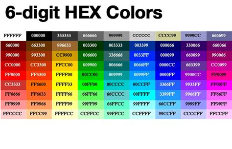 hexadecimal color color hex driverlayer search engine