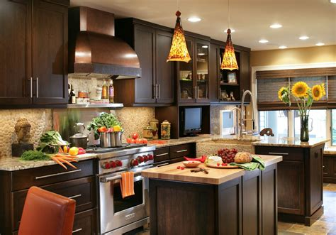 In A Kitchen by 30 Popular Traditional Kitchen Design Ideas