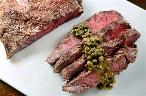flat iron steak house flat iron steak with dijon caper sauce life s ambrosia