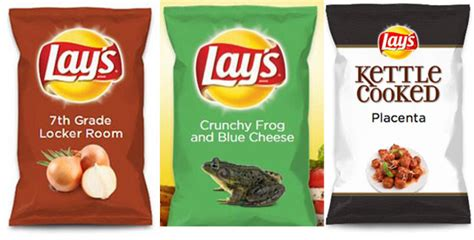 Lays Chips Sweepstakes - the submissions for new lay s chip flavors are getting out of control but we love it
