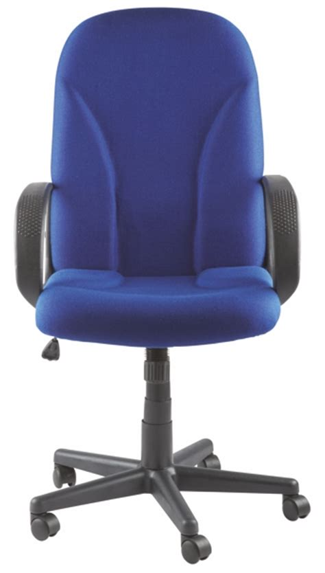 material executive chair boise high back executive fabric office chair blue