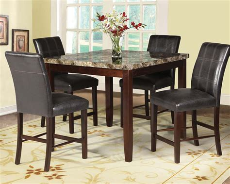 dining room bar height dining tablewith counter height circle
