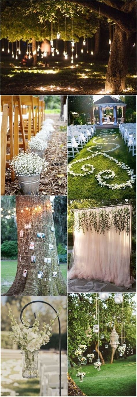 Wedding Inspiration An Outdoor Ceremony by 1000 Ideas About Woodland Wedding On Wedding