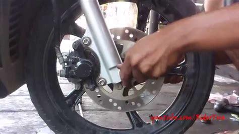 As Roda Depan Jupiter Z Formosa tips dan cara mengganti laher roda motor matic goyang tips otomotif