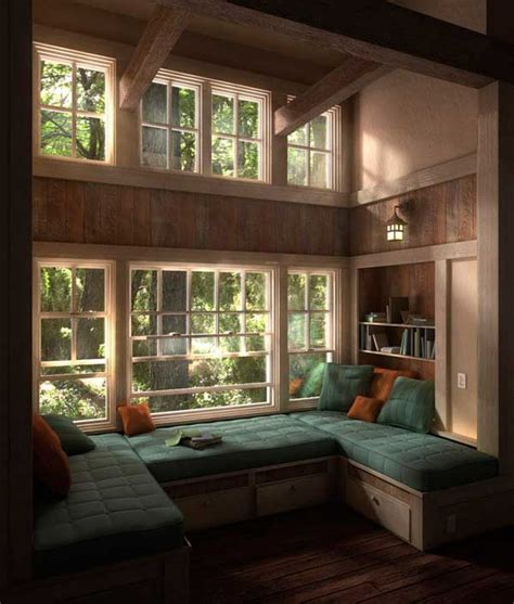 beautiful window seats  nooks   adore