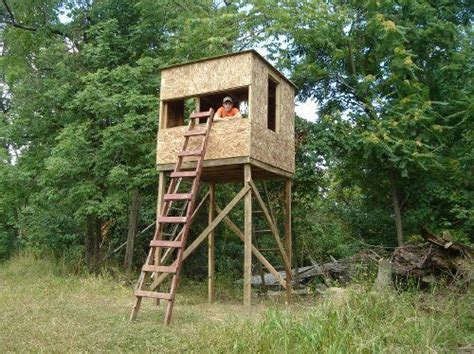 hunting house plans 1000 ideas about tree stand hunting on pinterest deer