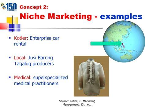exle of niche chapter 8 presentation