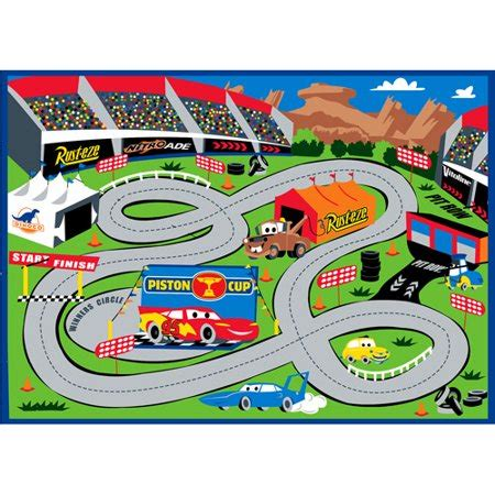 Disney Store Cars Play Mat - disney cars play rug walmart