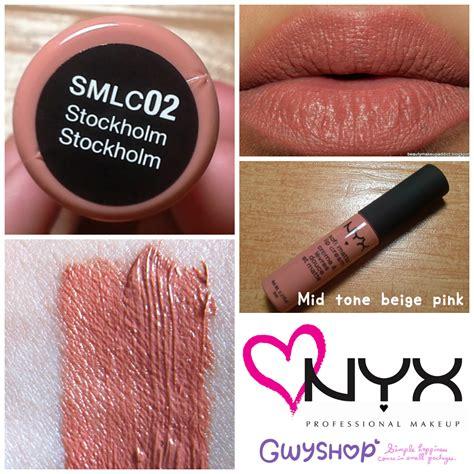 Nyx Stockholm jual nyx soft matte lip stockholm onikchan shop