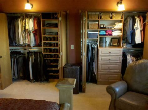 seattle side by side closets reach in closets