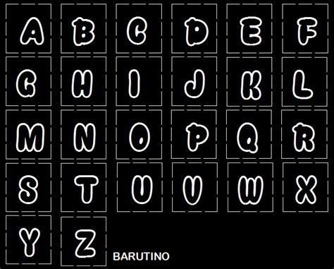 contoh desain huruf pisau huruf abjad barutino sandal