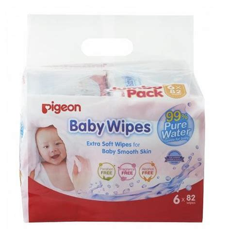 Pigeon Baby Wipes Water New Produk 82 S P2 pigeon baby powder with puff baby