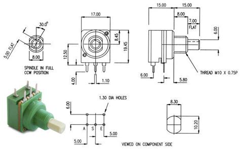 slide potentiometer wiring diagram potentiometer wiring