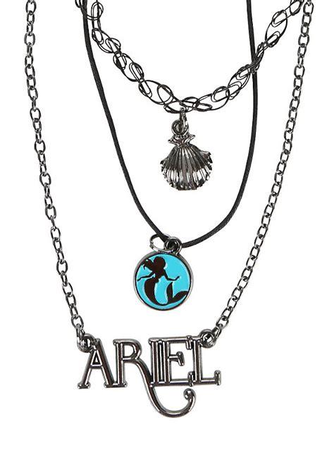 tattoo choker hot topic disney the little mermaid ariel tattoo choker necklace set